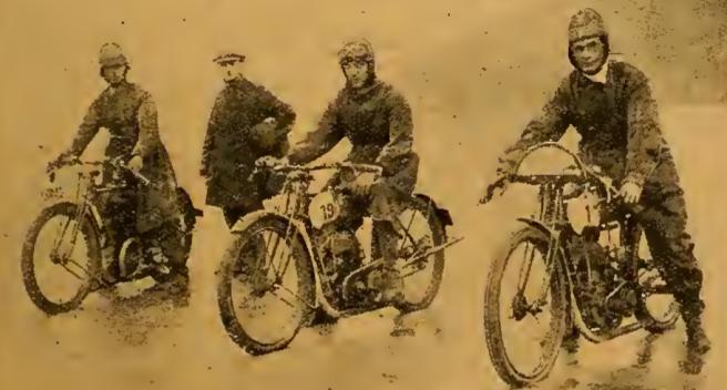 1922 WELSH TT WINNERS