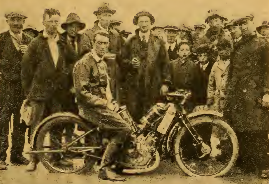 1922 WELSH TT WOOD