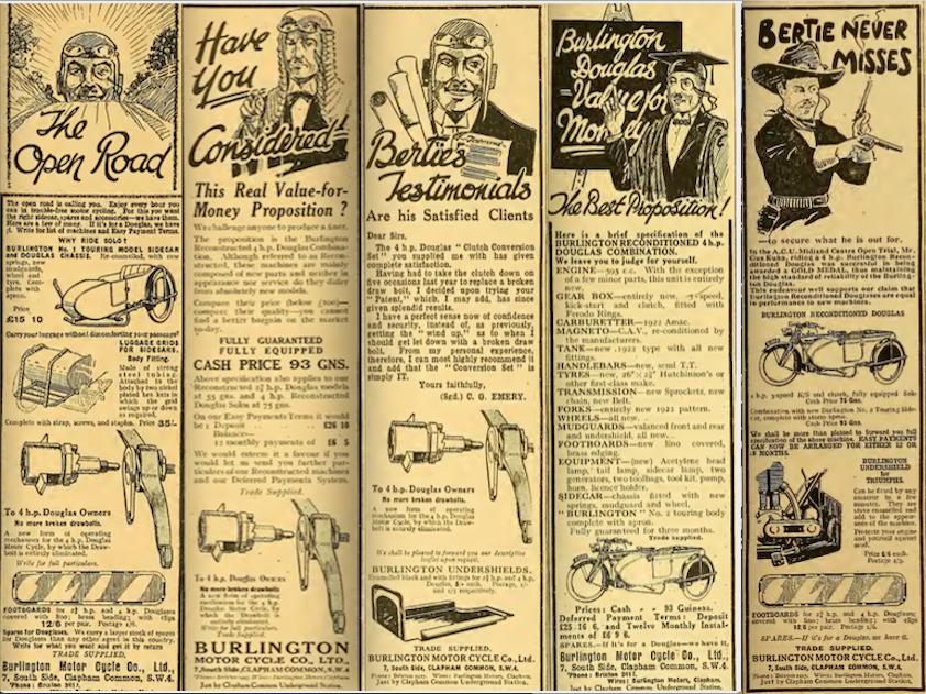 1922 BURLINGTON AD 2