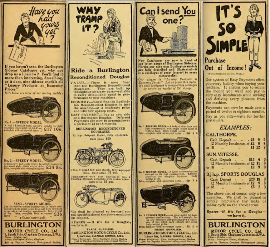1922 BURLINGTON AD 3
