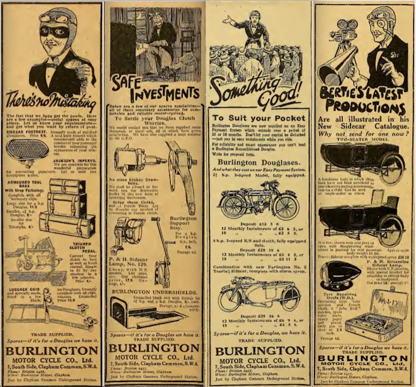1922 BURLINGTON AD 4
