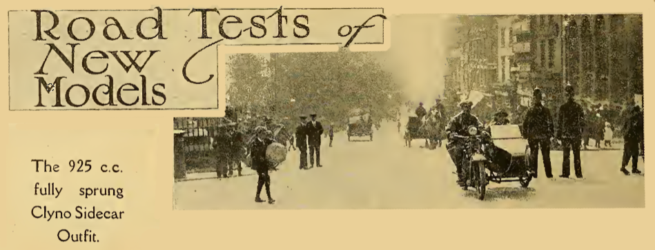 1922 CLYNOTEST AW