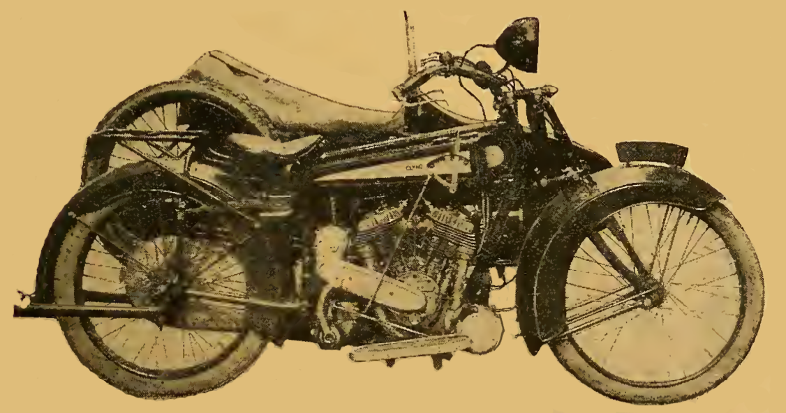 1922 CLYNOTEST BIKE