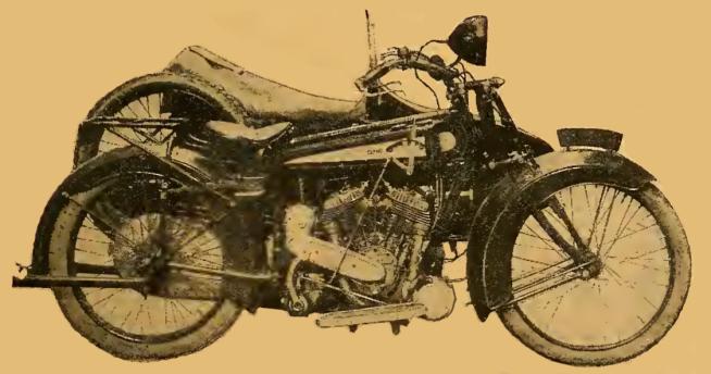 1922 CLYNOTEST BIKE