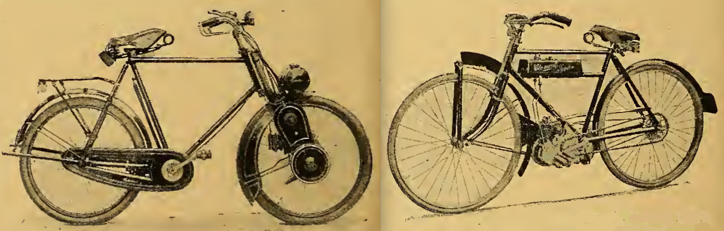 1922 CYCLAID CLEMENT