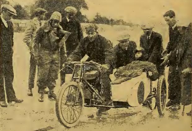 1922 DOUGLAS RECORD