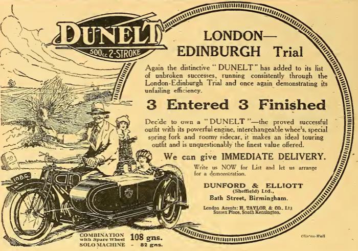 1922 DUNELT AD