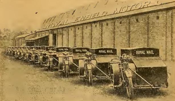 1922 ENFIELD POSTIES