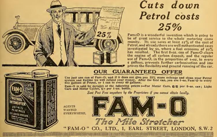 1922 FAMO AD
