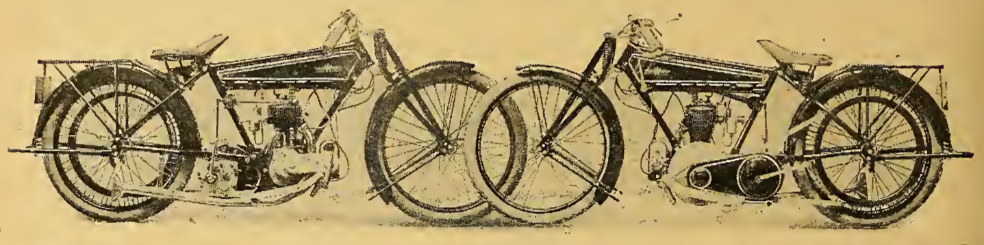 1922 GNOME RHONE BIKE