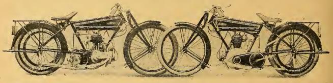 1922 GNOME RHONE BIKE