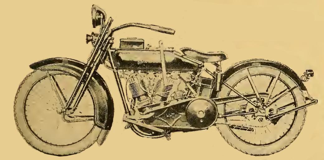 1922 HARLEY 1208