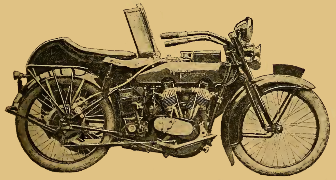 1922 HARLEYTEST BIKE