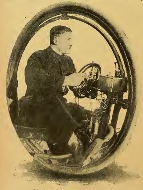 1922 ITALIAN UNICYCLE