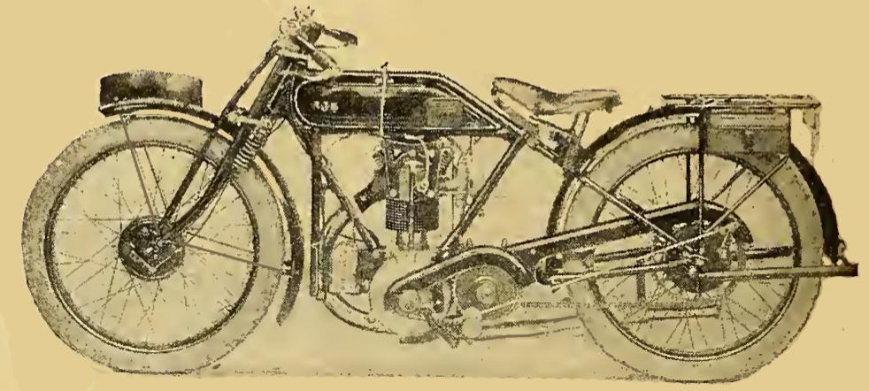 1922 OHV AJS 350