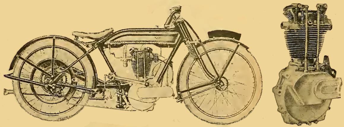 1922 OHV NORTON