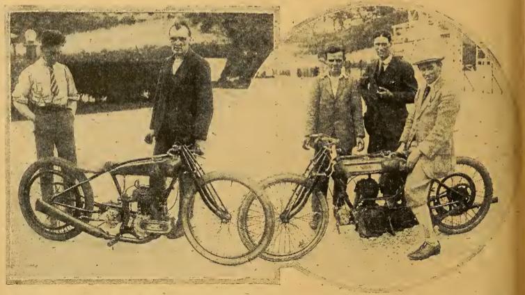 1922 OK NORTON RECORDS
