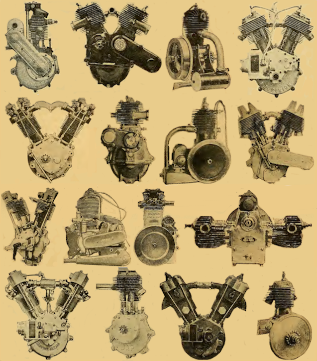 1922 PROPRIETARY ENGINES