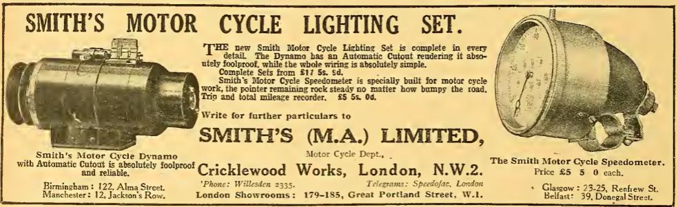1922 SMITH'S AD