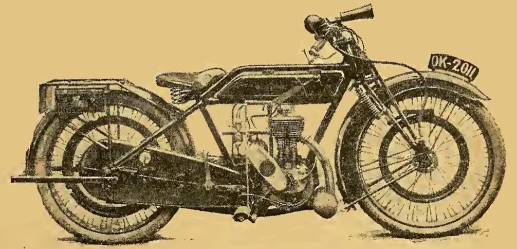 1922 SUNBEAM 350