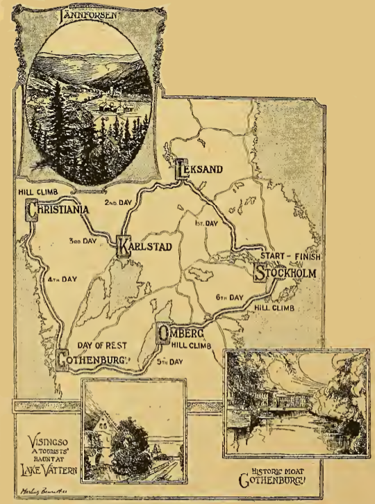1922 SWEDISH ISDT AW