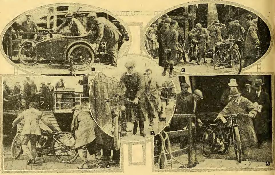 1922 TT ARRIVALS