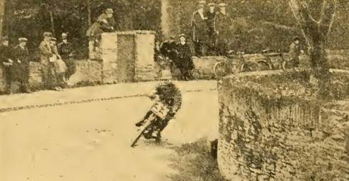 1922 TT PRACTICE SIMPSON