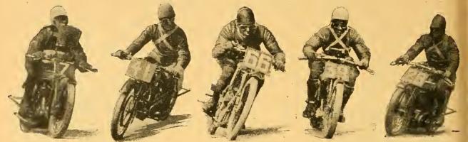 1922 TT SENIOR RIDING STYLES