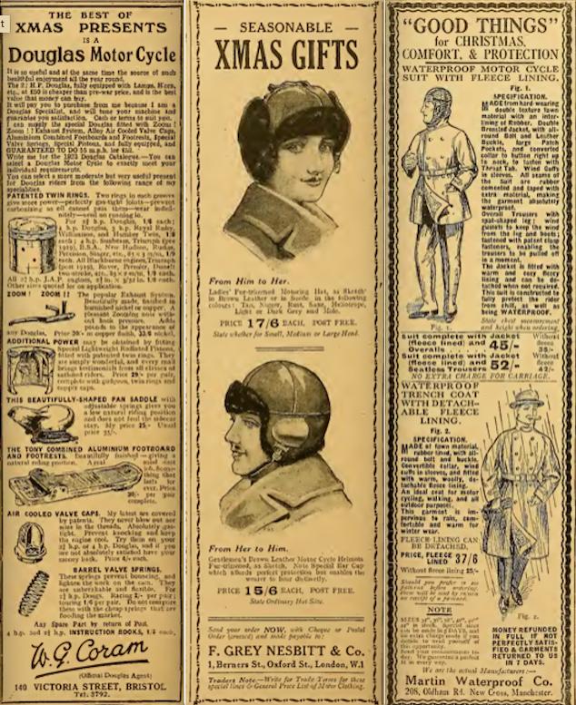 1922 XMAS 3 ADS