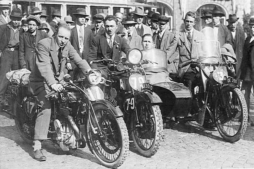 1923 ISDT BRIT TROPHY TEAM