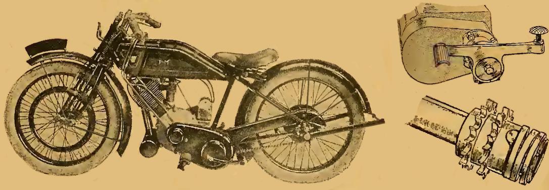1923 PANTHER DEB