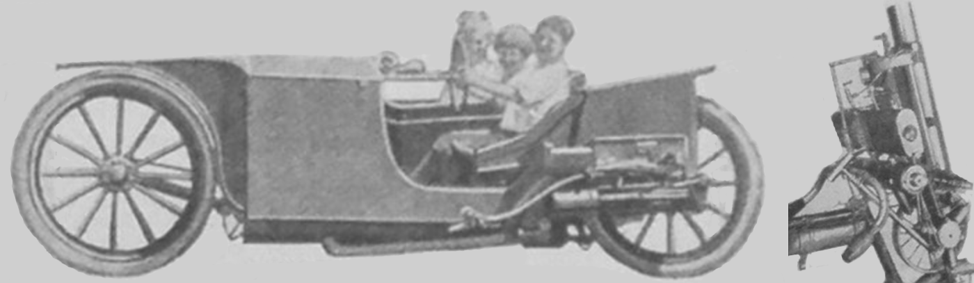 1923 STEAM BIKE