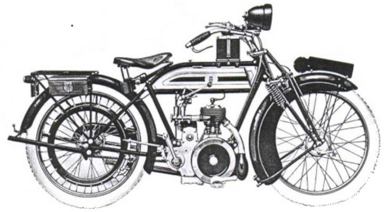 1923 TRIUMPH LS