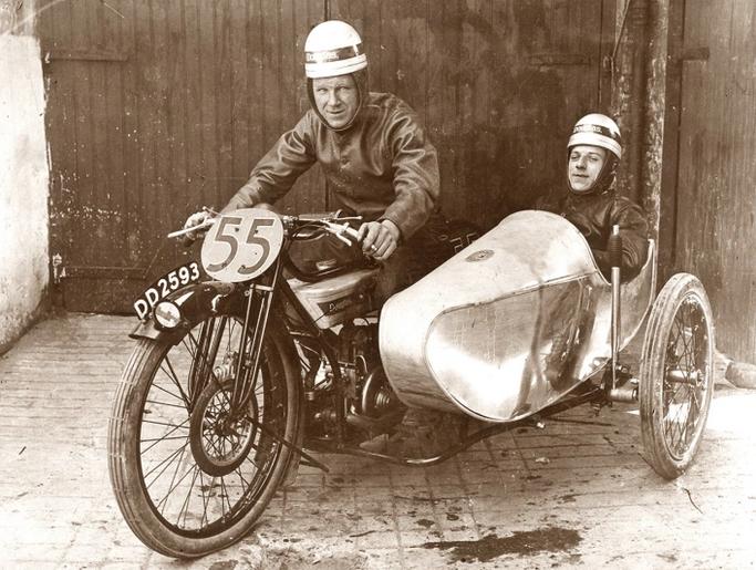 1923 TT BANKING SCAR