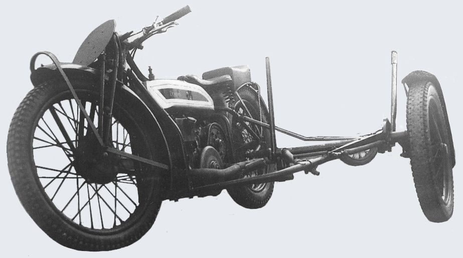 1923 TT BANKING SCAR CHASSIS