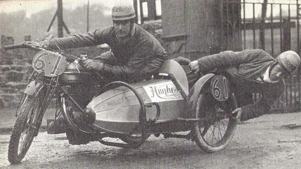 1923 TT NORTON COMBO WALKER