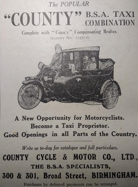 1923 BSACAB AD