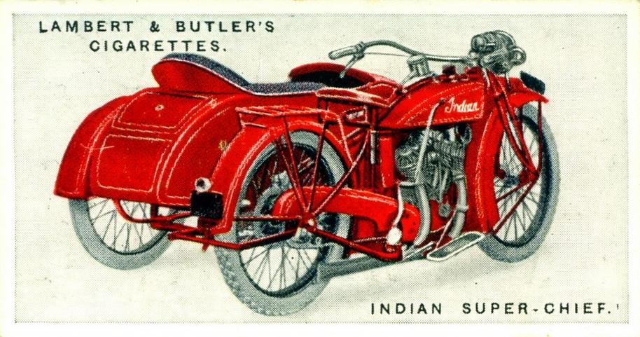 1923 INDIAN CARD