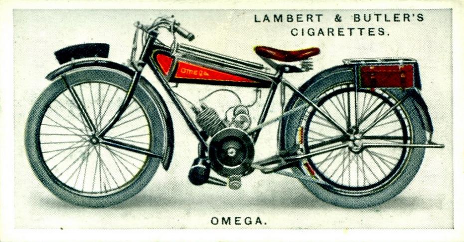 1923 OMEGA CARD