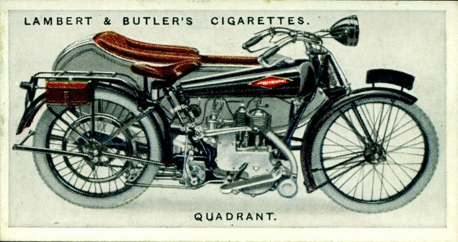 1923 QUADRANT CARD