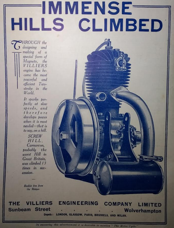 1923 VILLIERS AD