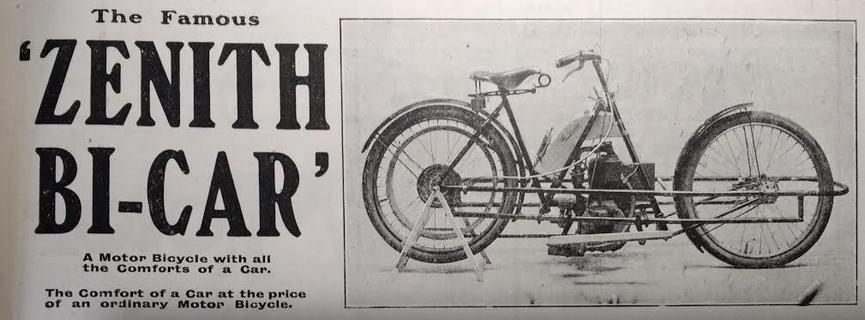 1905 ZENITH BICAR ADPIC