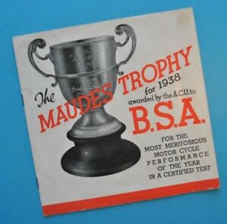 A-Z MAUDES 1938