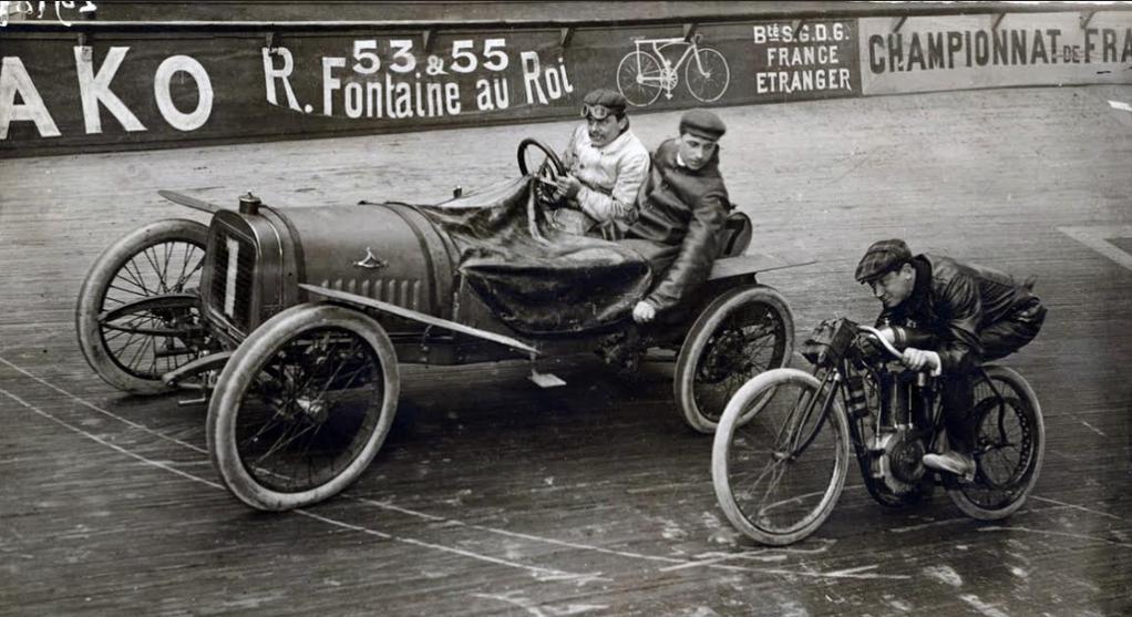 1900s VELODROME BIKE CAR