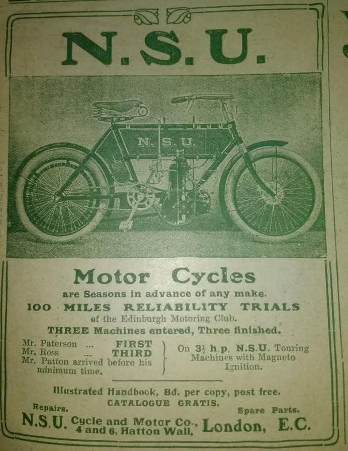 1905 NSU AD