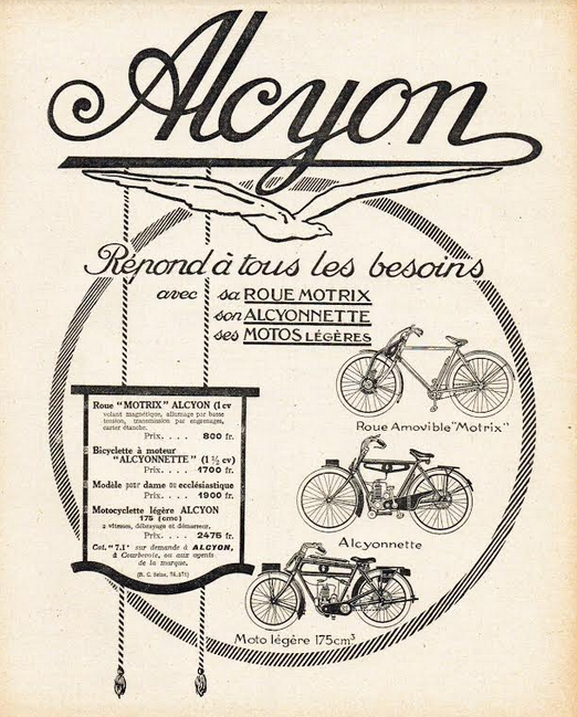 1924 ALCYON AD