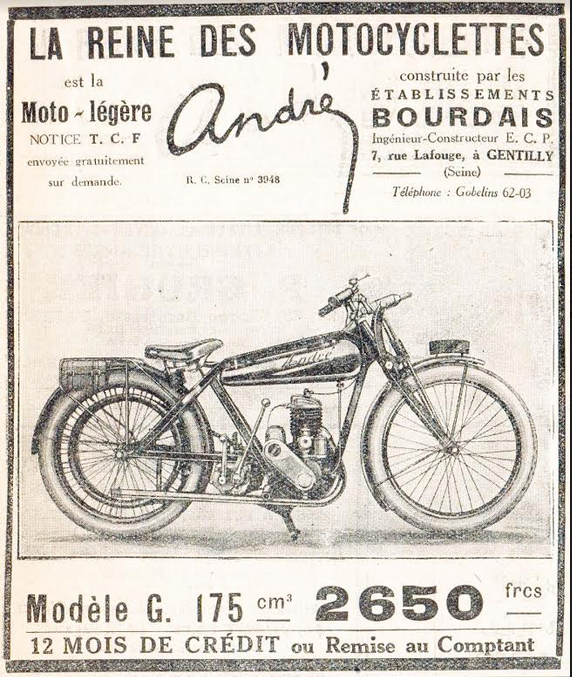 1924 ANDRE AD