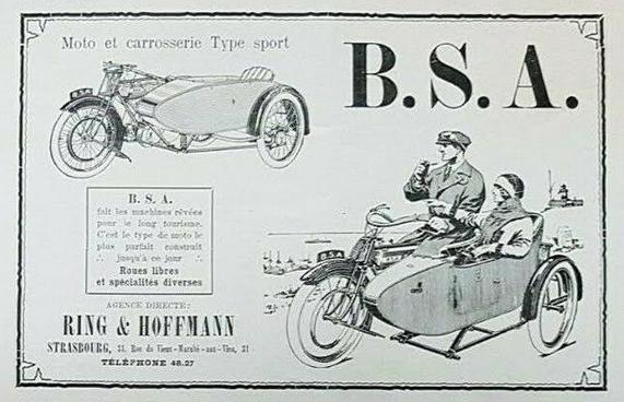 1924 BSA AD
