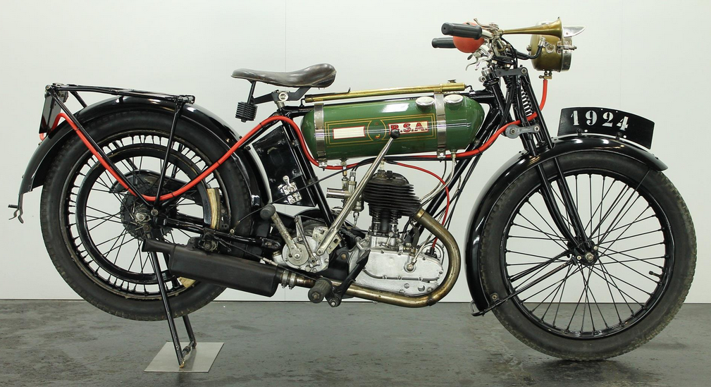 1924 BSA ROUND TANK