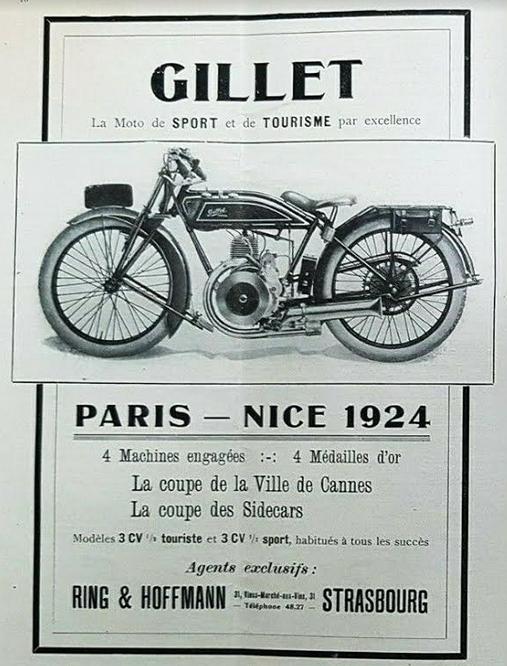 1924 GILLET AD